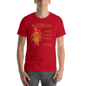 Roman Emperor Hadrian Architects Anonymous Short-Sleeve Unisex T-Shirt