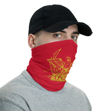 Load image into Gallery viewer, Anti Barbarian Red SPQR Roman Legionary Standard Neck Gaiter