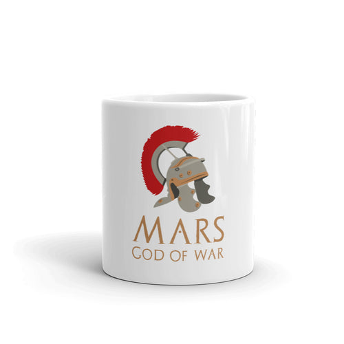Mars God Of War Roman Legionary Helmet Mug
