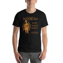 Load image into Gallery viewer, Ancient Roman emperor Hadrian shirt