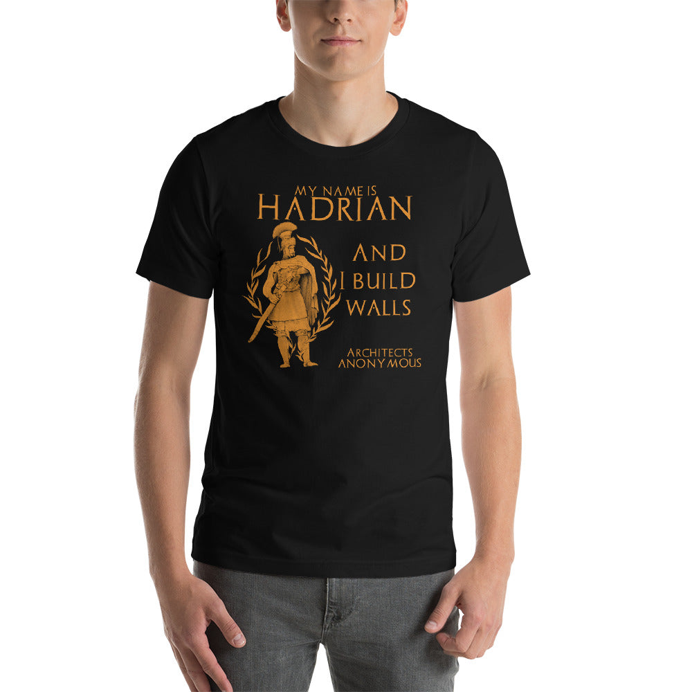 Ancient Roman emperor Hadrian shirt