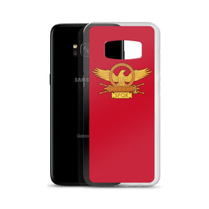 Roman Eagle Red Samsung Case