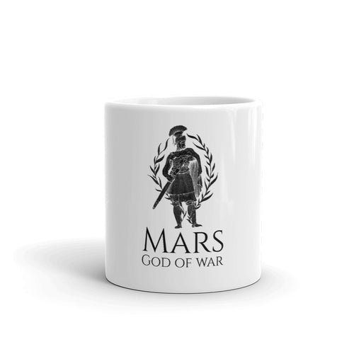 Ancient Roman God Mars mythology mug