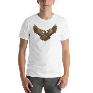 Steampunk Roman Eagle Legionary Aquila Short-Sleeve Unisex T-Shirt