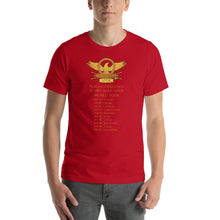 Load image into Gallery viewer, Scipio Africanus World Tour Second Punic War Short-Sleeve Unisex T-Shirt