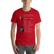 Load image into Gallery viewer, Scipio Africanus World Tour Short-Sleeve Unisex T-Shirt
