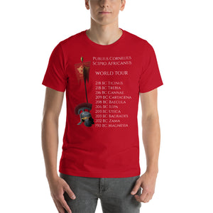 Scipio Africanus World Tour Short-Sleeve Unisex T-Shirt