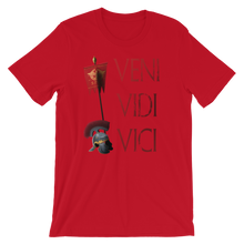 Load image into Gallery viewer, Veni Vidi Vici Gaius Julius Caesar Latin Quote Short-Sleeve Unisex T-Shirt