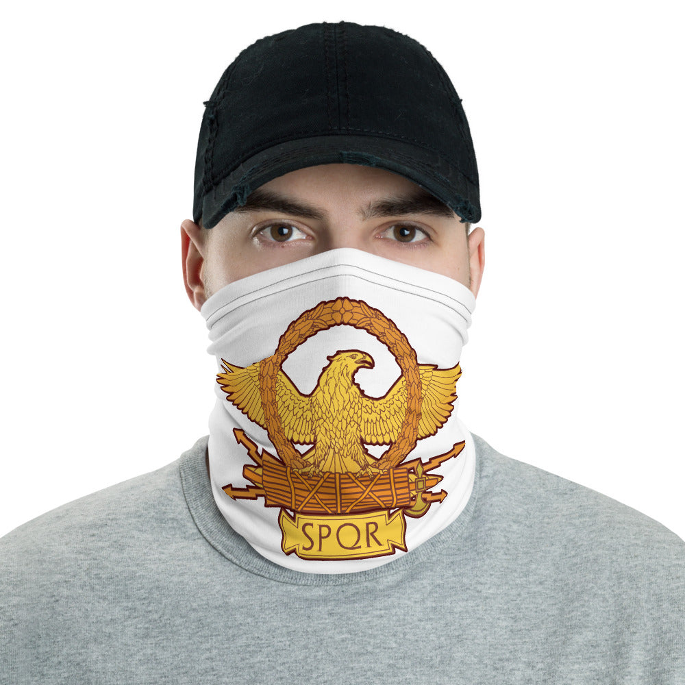 Anti Barbarian SPQR Roman Eagle Neck Gaiter