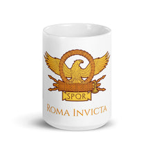Load image into Gallery viewer, Roma Invicta SPQR Ancient Rome Coffee Mug