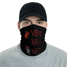 Load image into Gallery viewer, Anti Barbarian SPQR Veni Vidi Vici Ancient Rome Neck Gaiter
