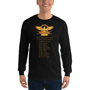 Scipio Africanus World Tour Men's Long Sleeve Shirt