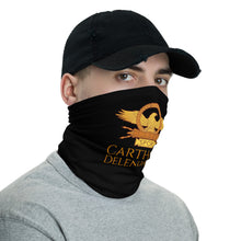 Load image into Gallery viewer, Carthage Delenda Est SPQR Roman Eagle Anti Barbarian Neck Gaiter