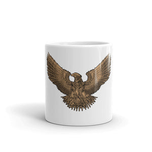 Steampunk Roman Legionary Eagle Coffee Mug