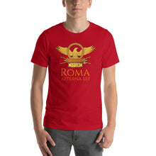 Load image into Gallery viewer, Roma Aeterna Est Short-Sleeve Unisex T-Shirt
