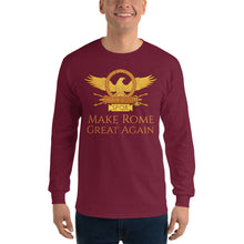 Load image into Gallery viewer, Make Rome Great Again - Ancient Rome Men's Long Sleeve Shirt