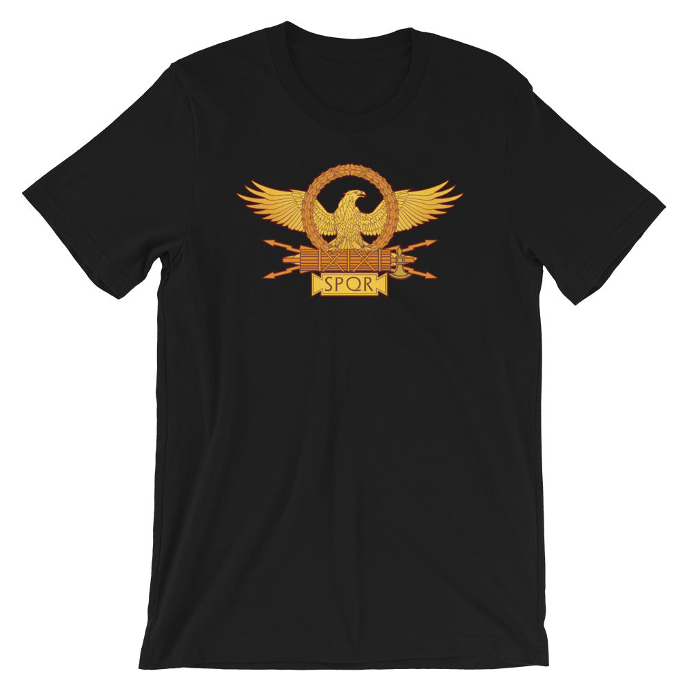 Ancient Rome SPQR Legionary eagle shirt