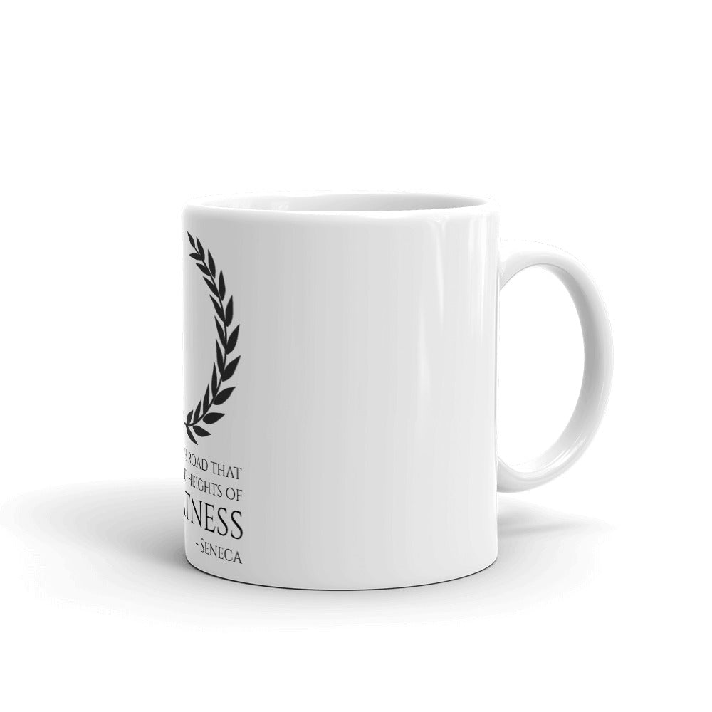 Seneca Quote On Greatness - Coffee Mug