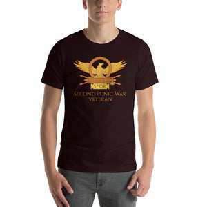Second Punic War Veteran SPQR Roman Eagle Short-Sleeve Unisex T-Shirt