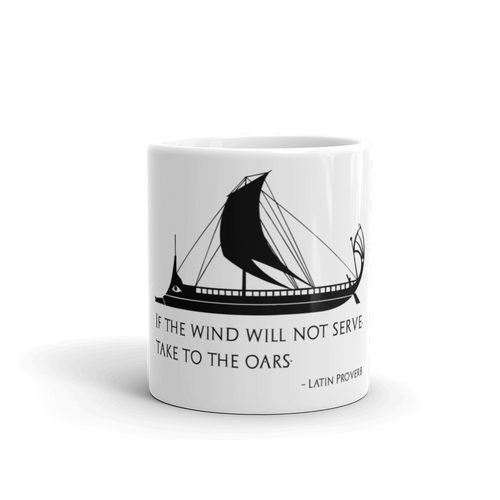 Stoicism philosophy quote mug