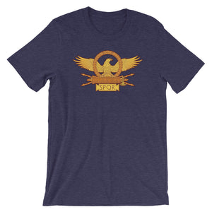 Roman Eagle SPQR Short-Sleeve Unisex T-Shirt