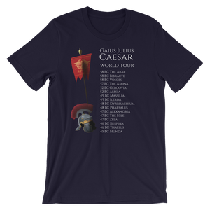 Gaius Julius Caesar World Tour - Ancient Rome Short-Sleeve Unisex T-Shirt
