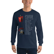 Load image into Gallery viewer, Gaius Julius Caesar World Tour - Ancient Rome Men's Long Sleeve Shirt