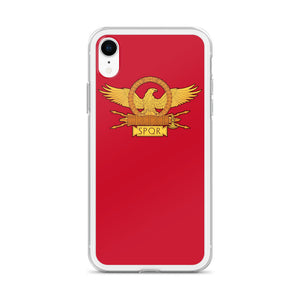 Roman Eagle Red iPhone Case