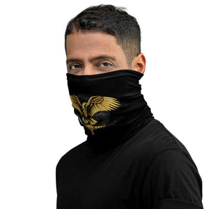 Roman legionary eagle neck gaiter