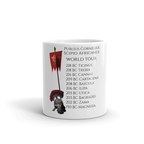 Publius Cornelius Scipio Second Punic War mug