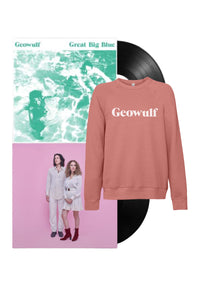 "* Pre-Order * My Resignation / Great Big Blue 12"" LPs / Logo Sweater Bundle (Signed)"