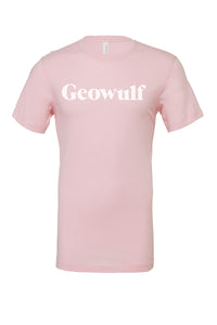 Geowulf Logo T-shirt (available in multiple colours)