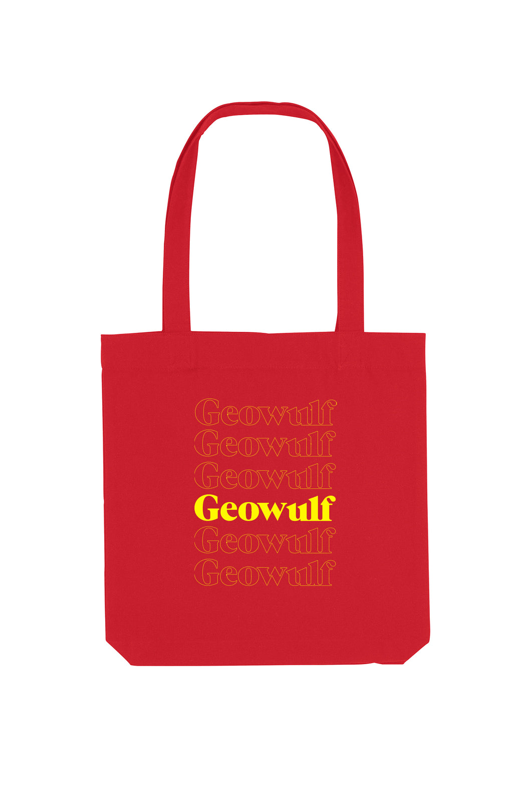 Geowulf Tote Bag (available in multiple colours)