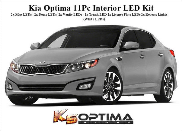 Kia Optima Interior LED Kit
