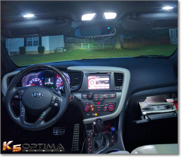 Great Kia Optima Interior LED Kit