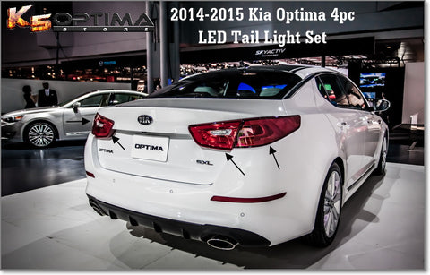 Kia Optima 2011 - 2015 OEM LED Tail Lights