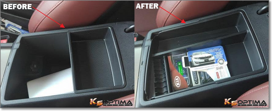 2016 Kia optima center console tray