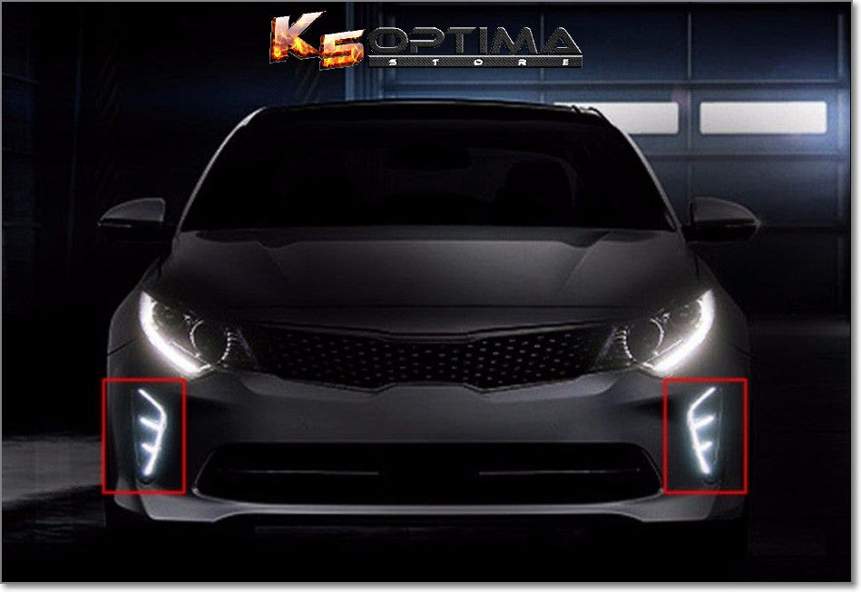 K5 Optima Store 2016 2018 Kia Optima Led Drl Air Vent Kit