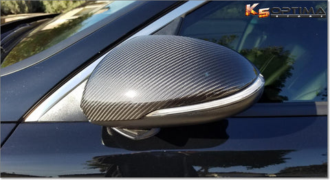 2016-2020 Kia Optima Carbon Fiber Mirror Covers