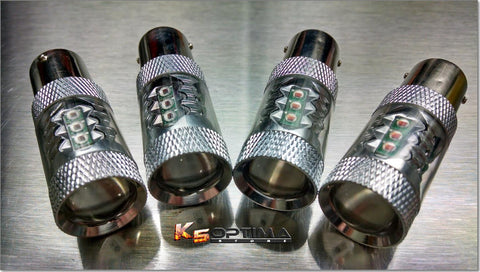80 Watt CREE 1156 LED Turn Signal Bulbs