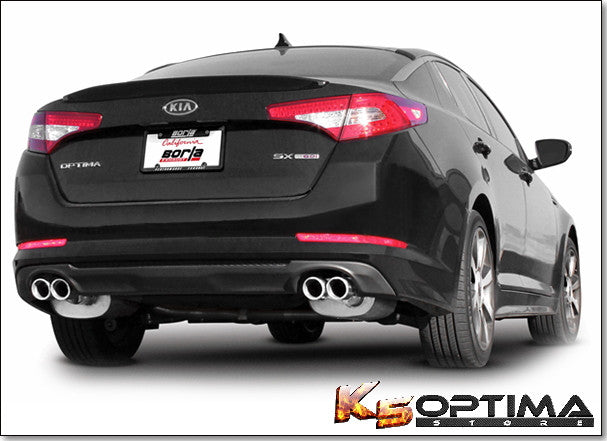 Kia Optima Borla exhaust
