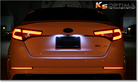 2011-2013 Kia Optima Rear LED Bumper Lights