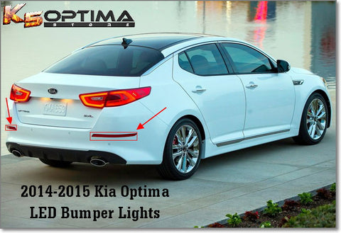 2014-2015 Kia Optima Rear LED Bumper Lights