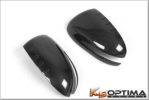 2011-2015 Kia Optima Carbon Fiber Mirror Covers