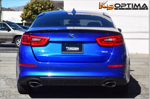 2014-2015 Kia Optima Carbon Fiber Rear Trunk Lip Spoiler
