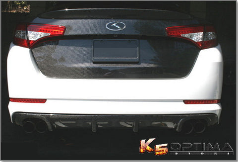 2011-2013 Kia Optima - Seibon Carbon Fiber Trunk Lid