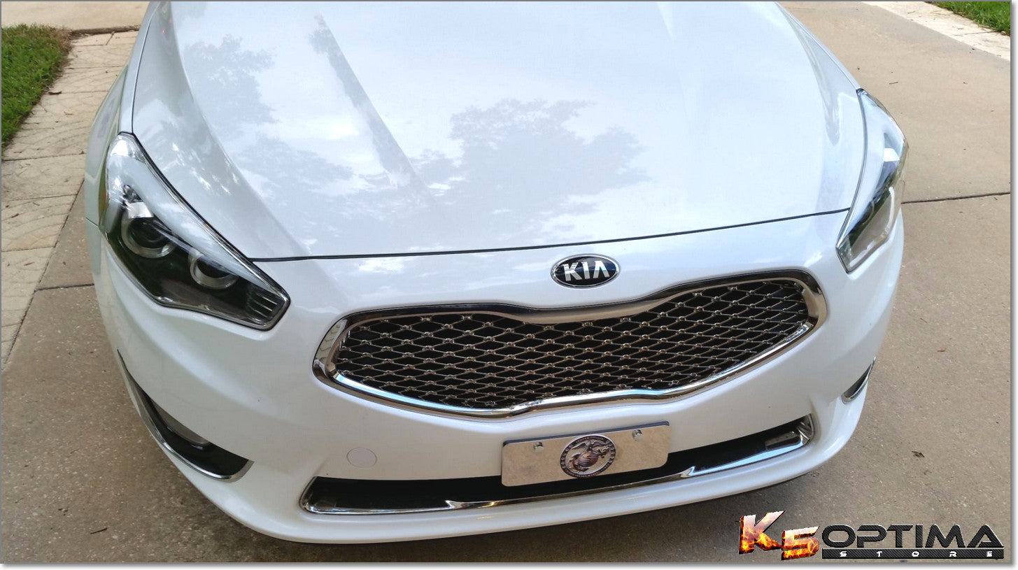 K5 Optima Store Kia Cadenza Chrome Grille Replacement