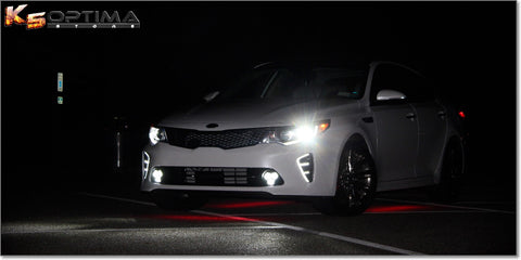 2016 Kia Optima LED DRL Air Vent Kit