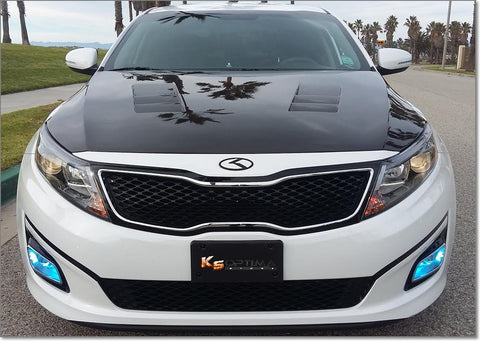 "New Kia 3.0 K Logo Emblem Sets ""Black Edition"""