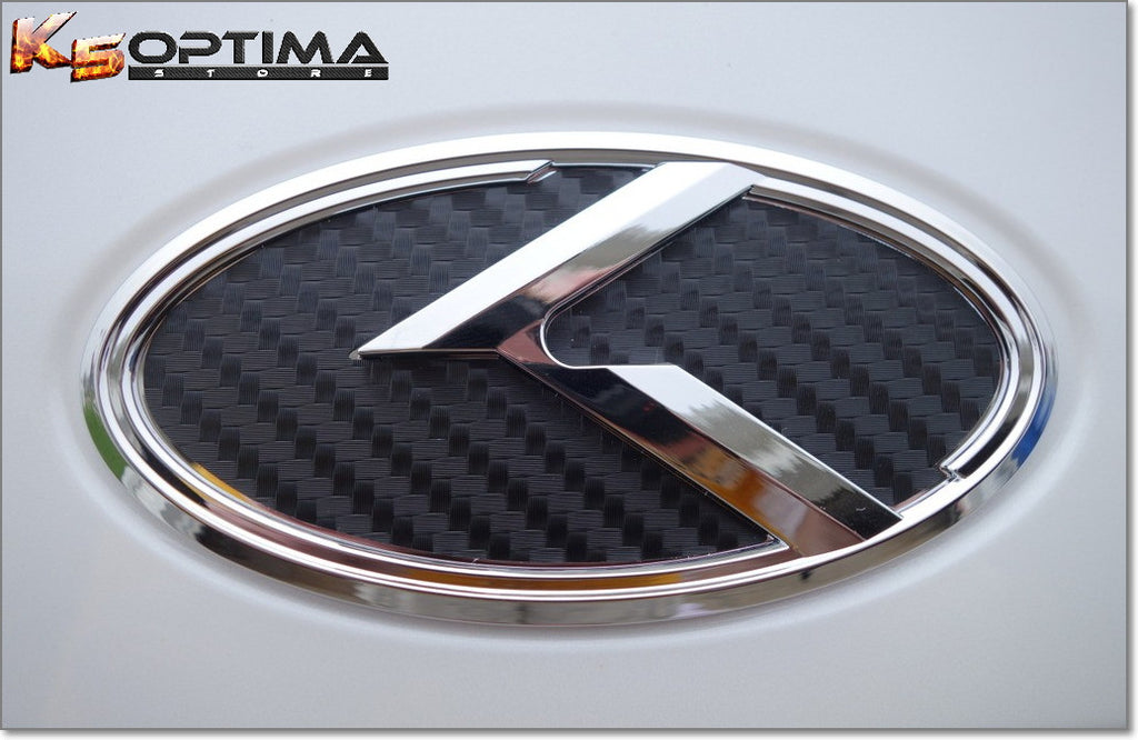 K5 Optima Store Kia 30 K Logo Emblem Sets Chrome Edition